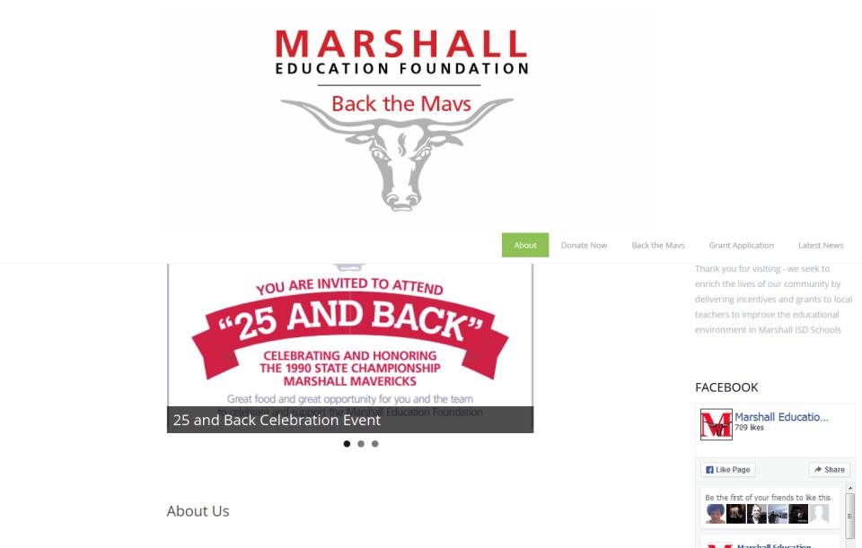 Marshall Education Foundation - Portfolio - Interfaith Networking
