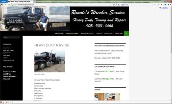 Ronnies Wrecker Service
