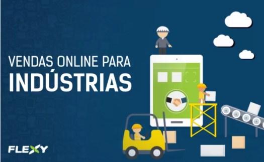 plataforma de e-commerce B2B da flexy para Varejo online de indústrias