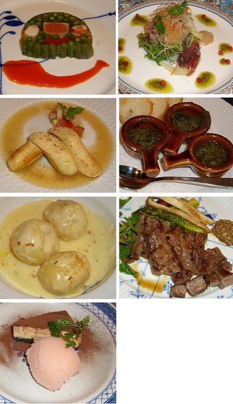 アンブロジアの料理