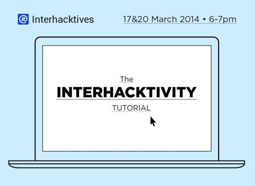 Interhacktivity tutorial #hackshangout