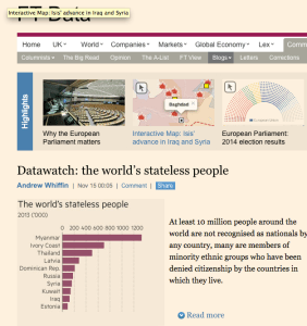 FT Datawatch: the world's stateless people screenshot