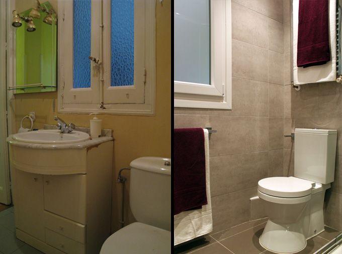 Ejemplo de reforma de un piso interior para alquilar - Que hay que hacer para alquilar un piso ...