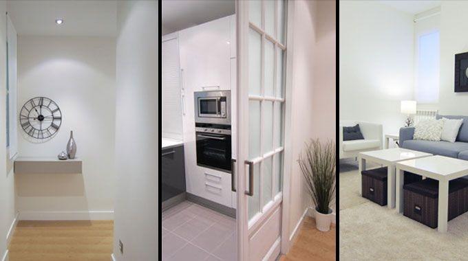 Ejemplo de reforma de un piso interior para alquilar for Reformar bano antiguo