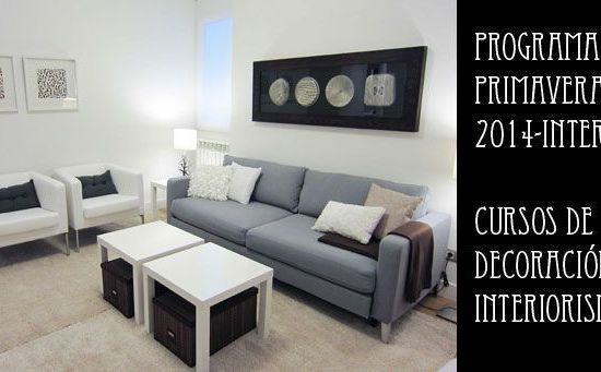Cursos de decoración e interiorismo - Interia primavera 2014