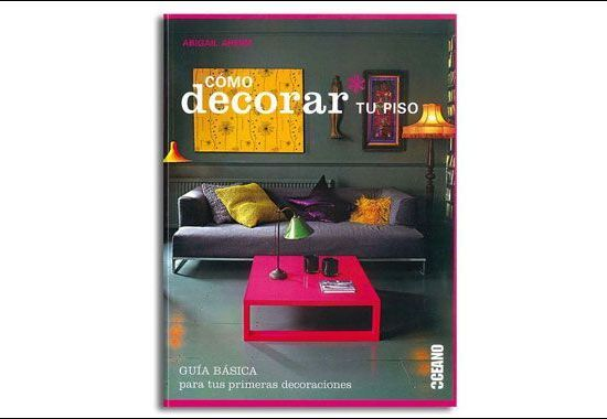 libro de decoración