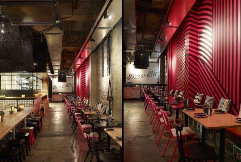 Decoración restaurante mejicano