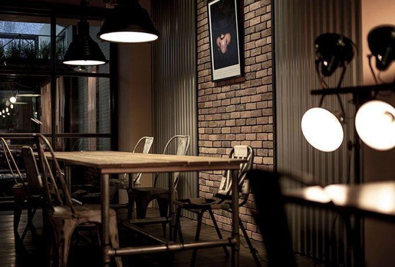 Decoración de la cafetería Sojourner