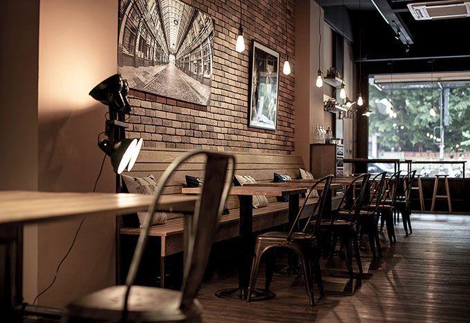Dise o y decoraci n de cafeter as el ejemplo de for Muebles para restaurantes y cafeterias