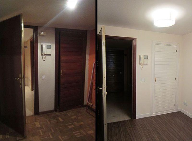 Reforma de un piso de alquiler en gran v a - Reforma piso pequeno antes y despues ...