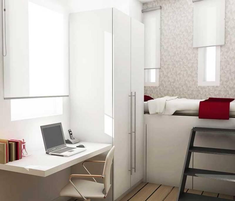 proyecto de interiorismo para un piso peque o de alquiler