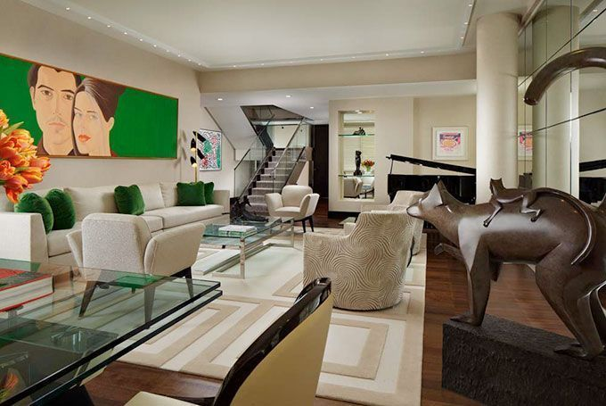 Dise adores famosos geoffrey bradfield el preferido por la jet - Disenadores de interiores famosos ...