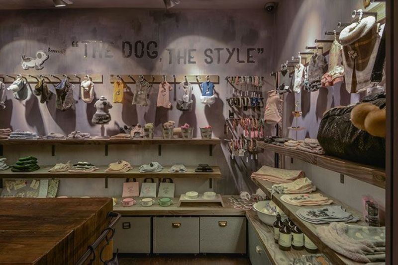 Diseño de una tienda de animales