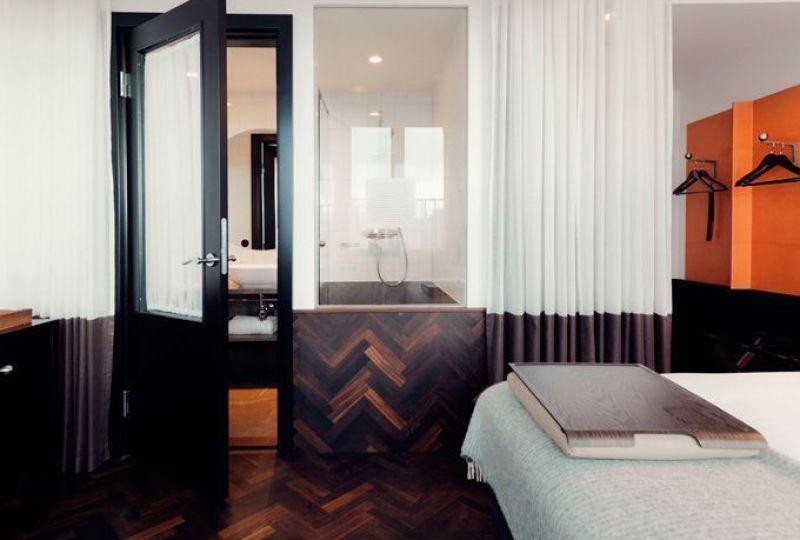 Diseño interior del Hotel Miss Clara