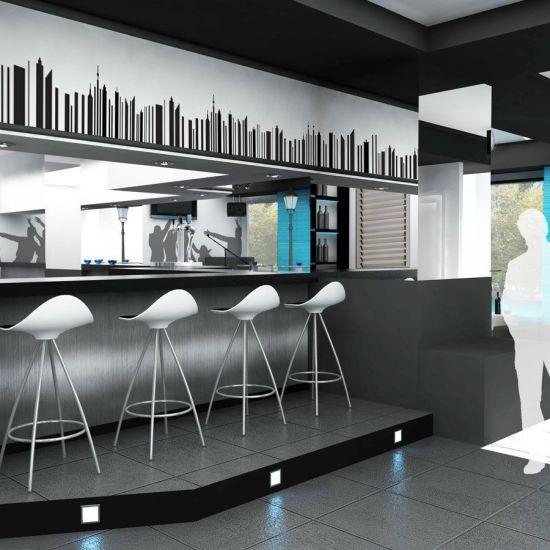 Proyecto de dise o de bar de copas en madrid - Decoracion de bares de copas ...