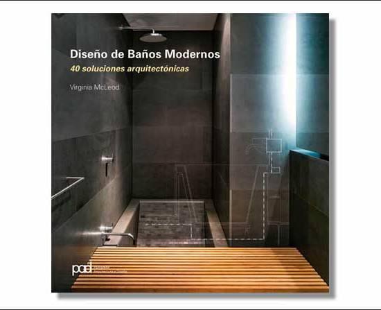 Libro Diseño de baños modernos