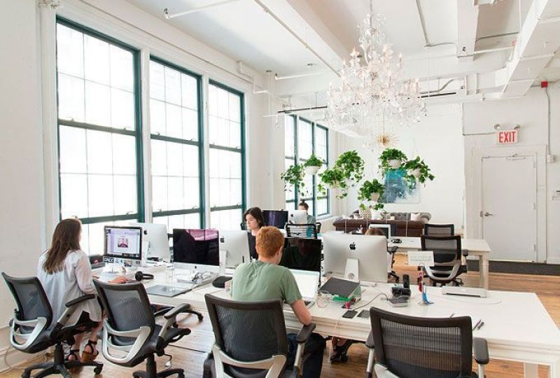 Oficinas Homepolish en Nueva York