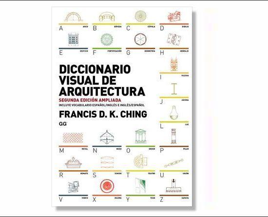 Libro Diccionario visual de arquitectura