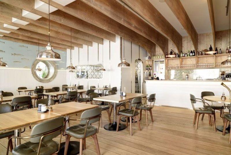 Interiorismo de locales restaurante hafen for Interiorismo restaurantes