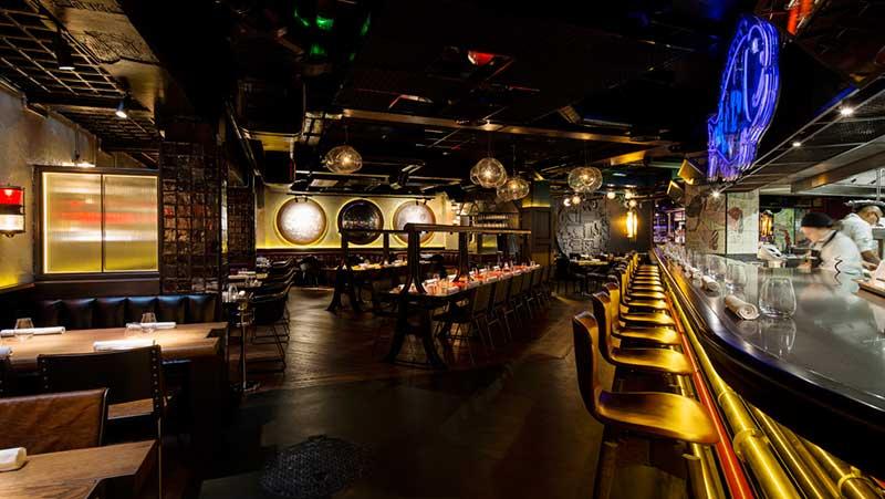 Restaurante StreetXo en Londres