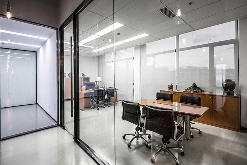 Oficina moderna en Shanghai