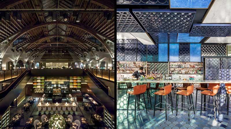 Mejores diseños de bares y restaurantes 2016