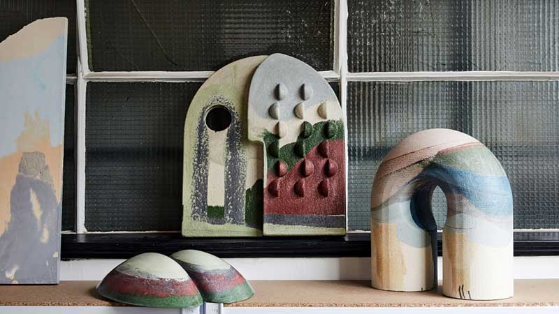 Esculturas de Maddie Sharrock