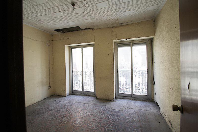 Antes de la reforma del salón
