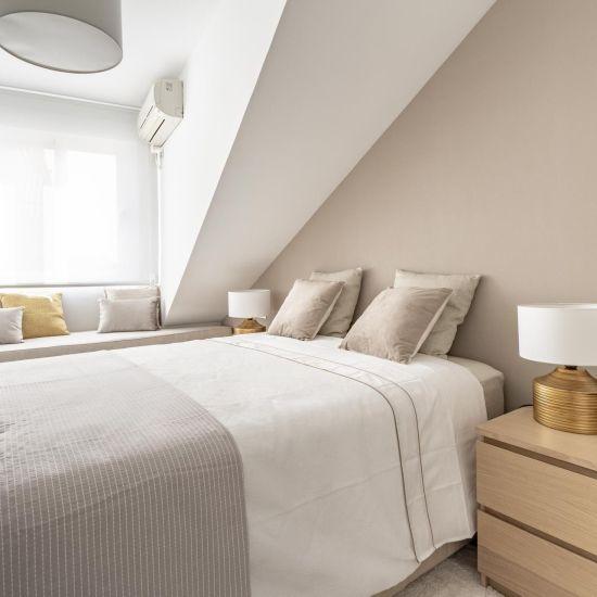 Dormitorio abuhardillado