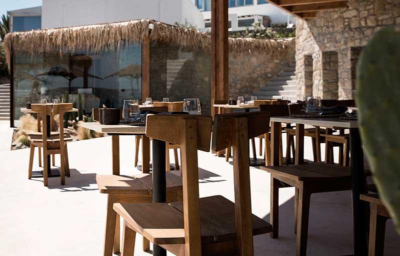 Restaurante veraniego en la Costa Dorada de Australia