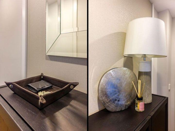 Amueblamiento y decoración de un piso contemporáneo
