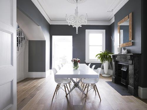 Modernes Esszimmer Interieur Ideen EOAB7. Warm Living Room Paint ...
