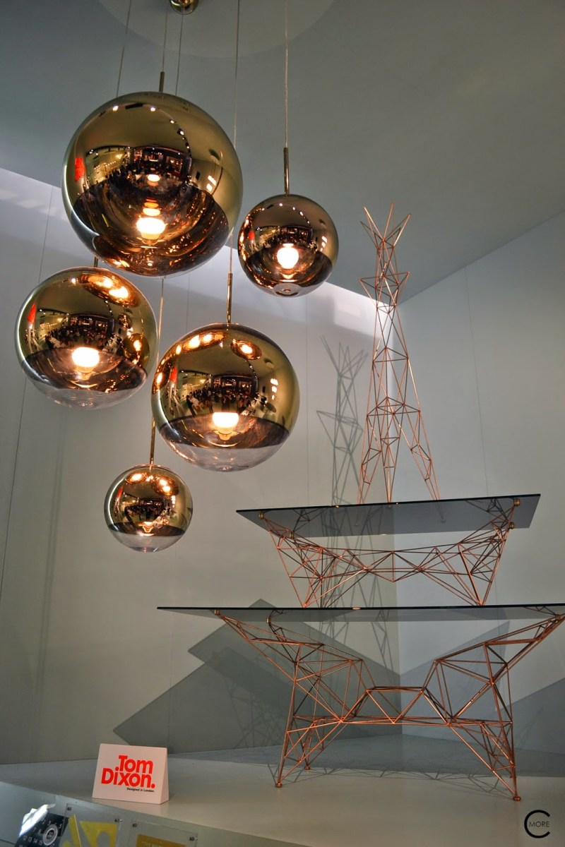 Tom Dixon | Milan Salone del Mobile 2014 | Metal and Copper,Accessoires, Lights, furniture