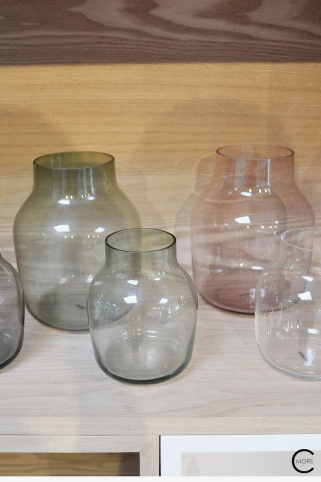 SILENT glass vase  | Muuto at C-More interieuradvies.blogspot.nl