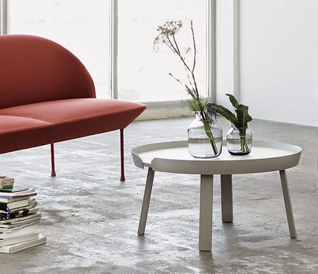 AROUND coffee table | Muuto at at C-More interieuradvies.blogspot.nl