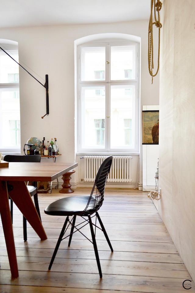 Freunde vin Freunde apartement Berlin | Vitra | photo's by © C-More