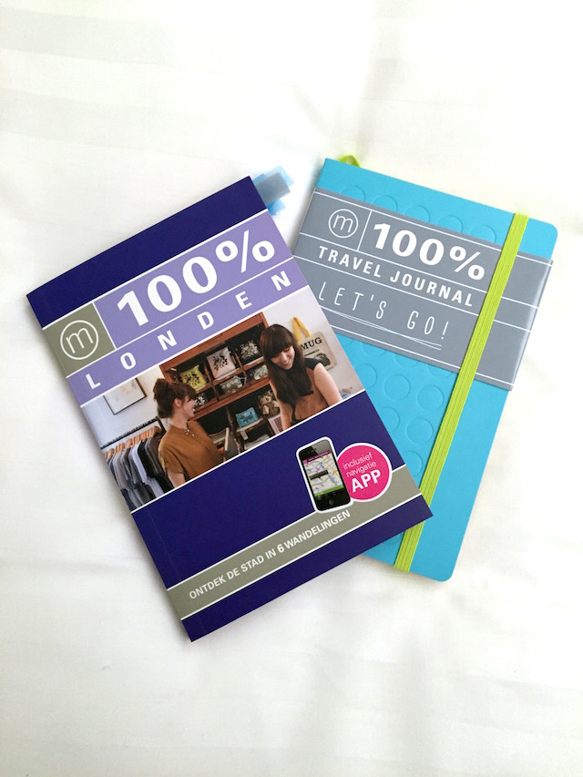 London 100 procent city guide and journal by C-More 2