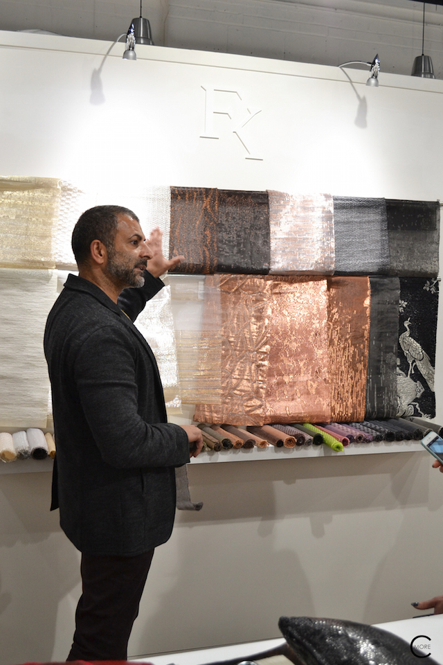 Fameed himself | Material Heaven | Fameed Hkalique London | visited with Modenus #LondonBlogtour #Designhounds | Luxury interior trend
