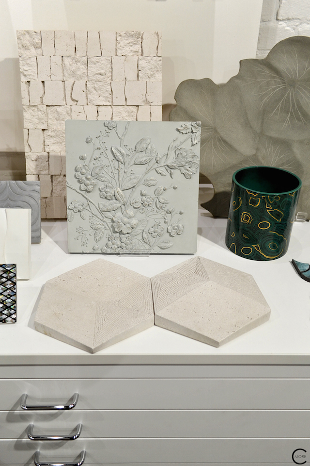 Texture + White + Gray + Plaster + Concrete | Material Heaven | Fameed Hkalique London | visited with Modenus #LondonBlogtour #Designhounds | Luxury interior trend