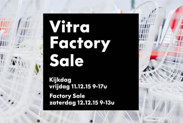 Vitra NL Factory Sale