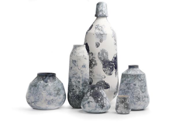 Bubblegraphy vase by Studio Oddness