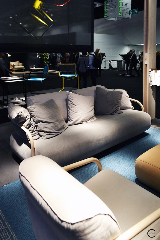 Thonet IMM Cologne 2016 | 2002 sofa | picture by C-More
