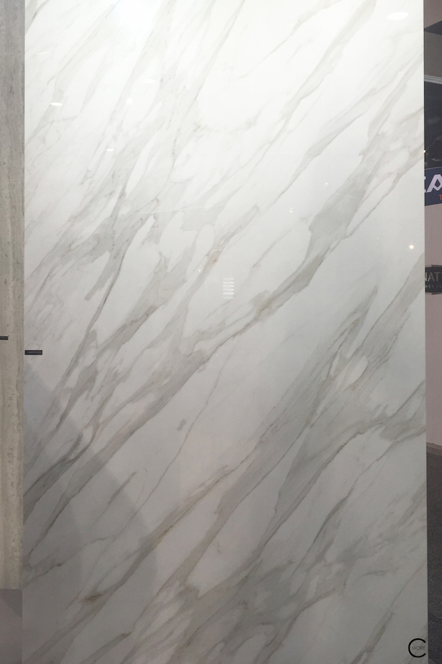 BlogtourKBIS 2016   Las vegas   Kitchen and bathroom trends   Marble trend   Classtone neolith   picture by C-More