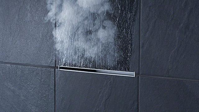 Steam Shower in your own home |Minimal Linear steamhead| MR Steam | BlogtourKbis