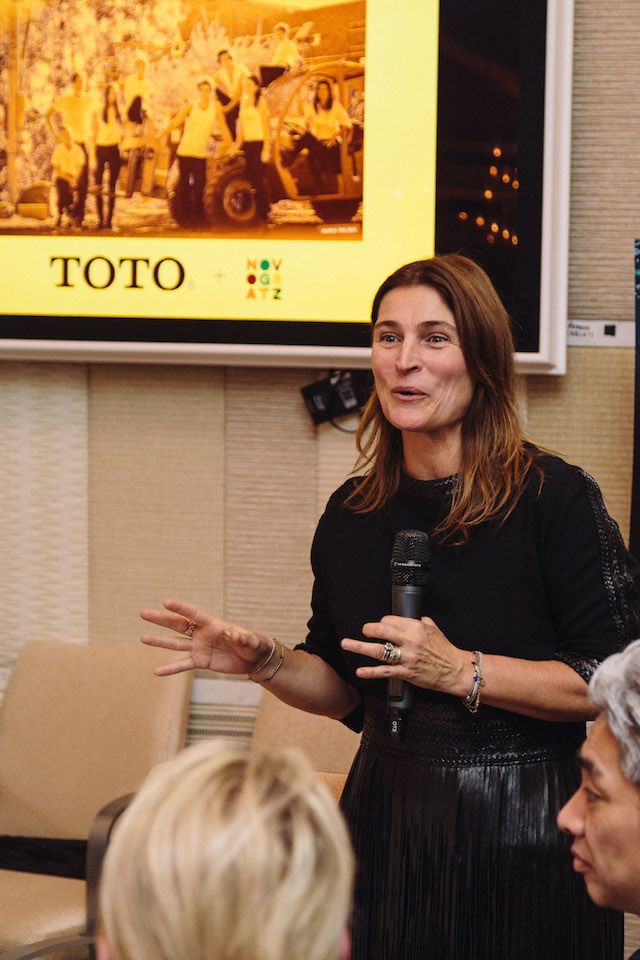 Cortney Novogratz at the TOTO USA Dinner | BlogtourKBIS 2016 | Modenus | Picture by Tori Aston