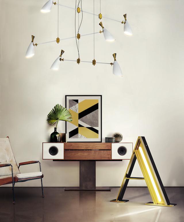 playing with retro colors and elements |spelen met retro kleuren & elementen | delightfull MODERN LAMPS GRAPHIC
