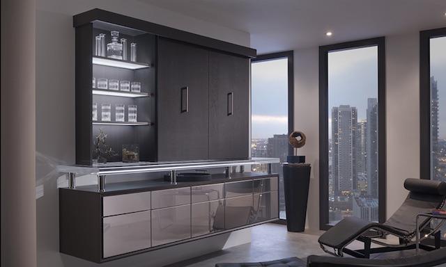 Vanguard Bar   Wood-Mode   Fine Custom Cabinetry