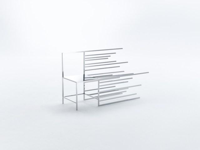 Nendo 50 manga chairs during Milan Design Week 2015