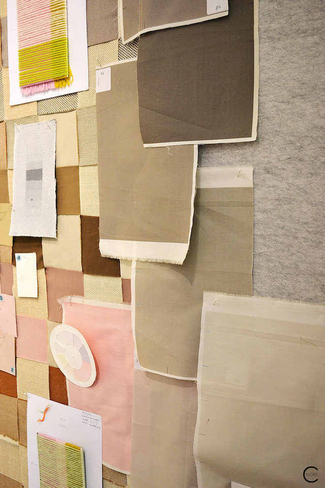 Color and textile samples | Casa Vitra Milan 2016 | Expo colors by Hella Jongerius | by C-More