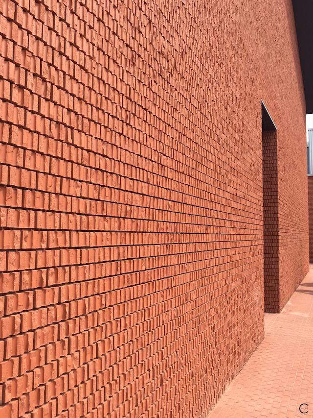 Beautiful facade texture | Vitra | new Shaudepot | Herzog & de Meuron | Vitra Museum | Design Furniture | Key History design pieces | © by C-More